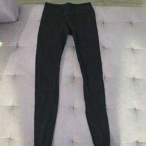 Black Lululemon Leggings low rise